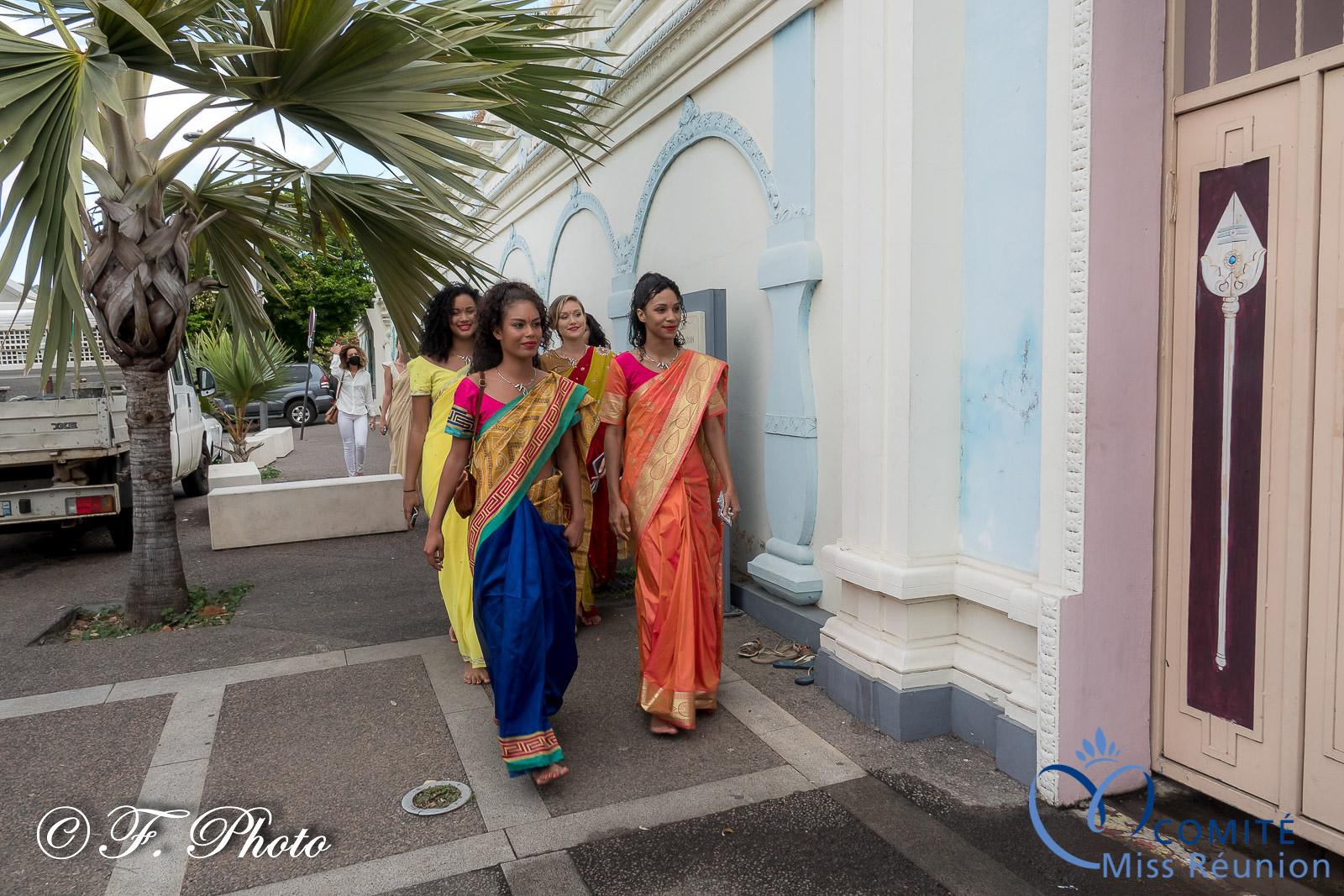 Arrivée au temple
