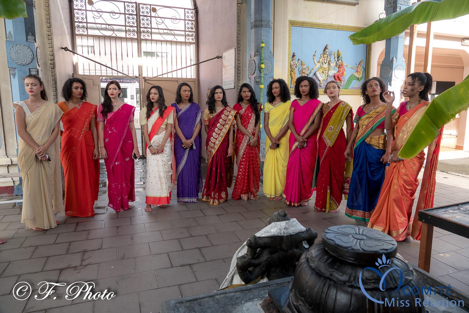 Les candidates 2021 visitent le temple tamoul de Saint-Paul