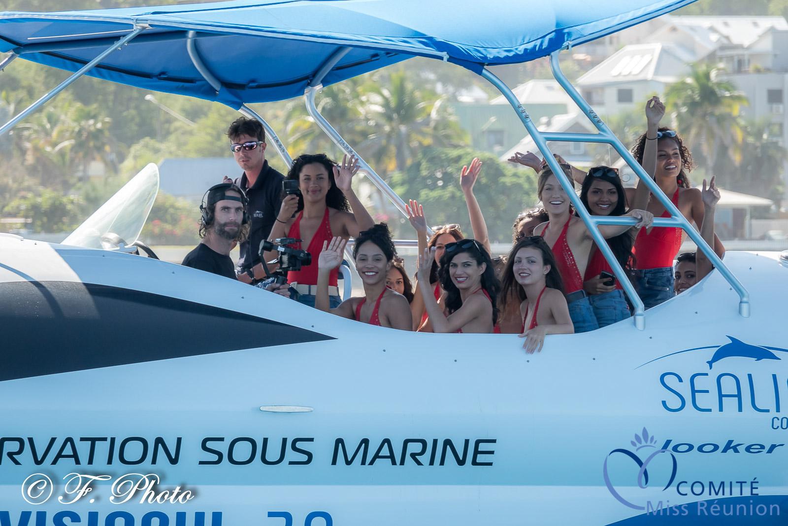 A bord du Visiobul avec Romain Clouet qui a effectué les images pour Antenne Réunion