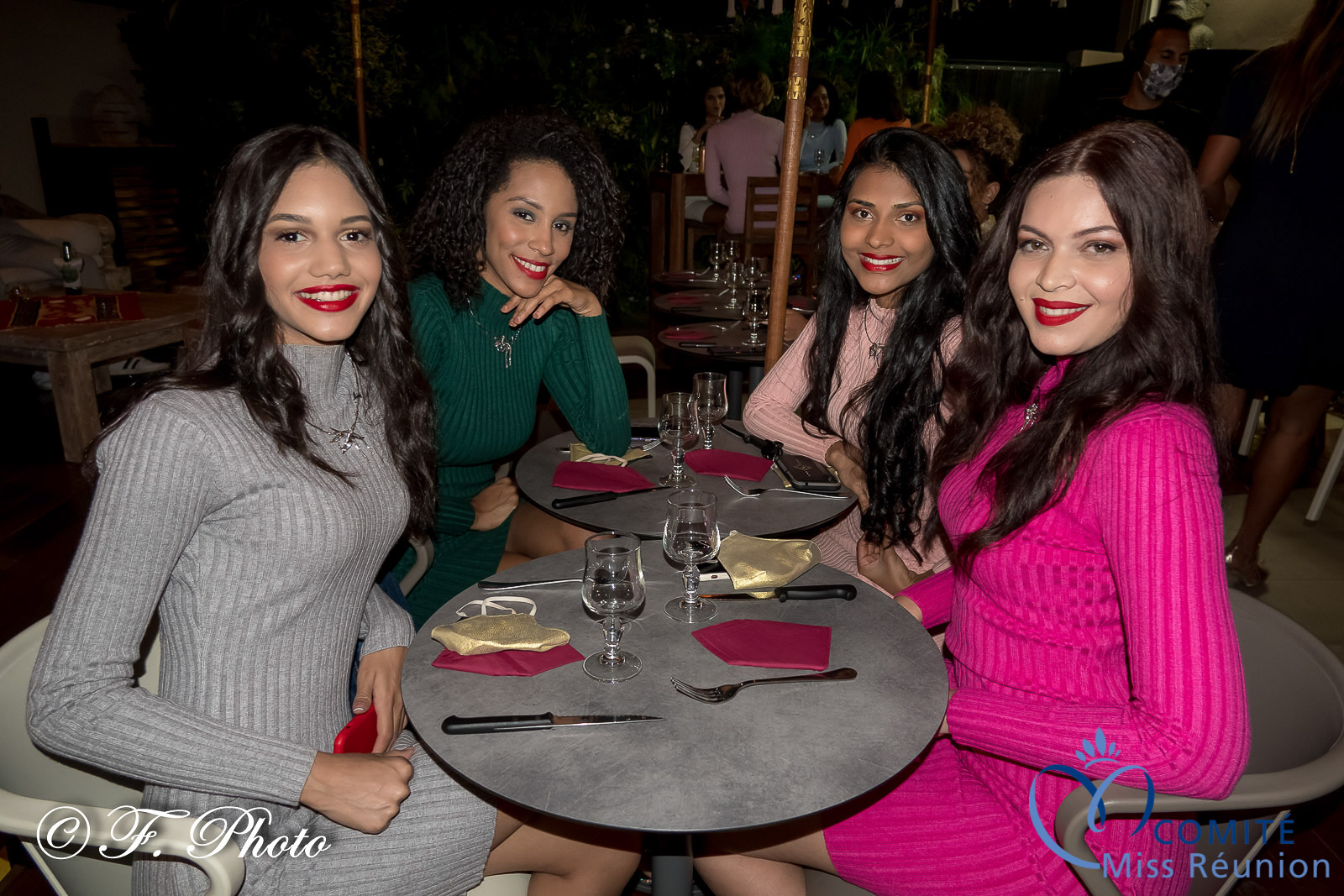 Aurore, Florence, Dana et Virginie