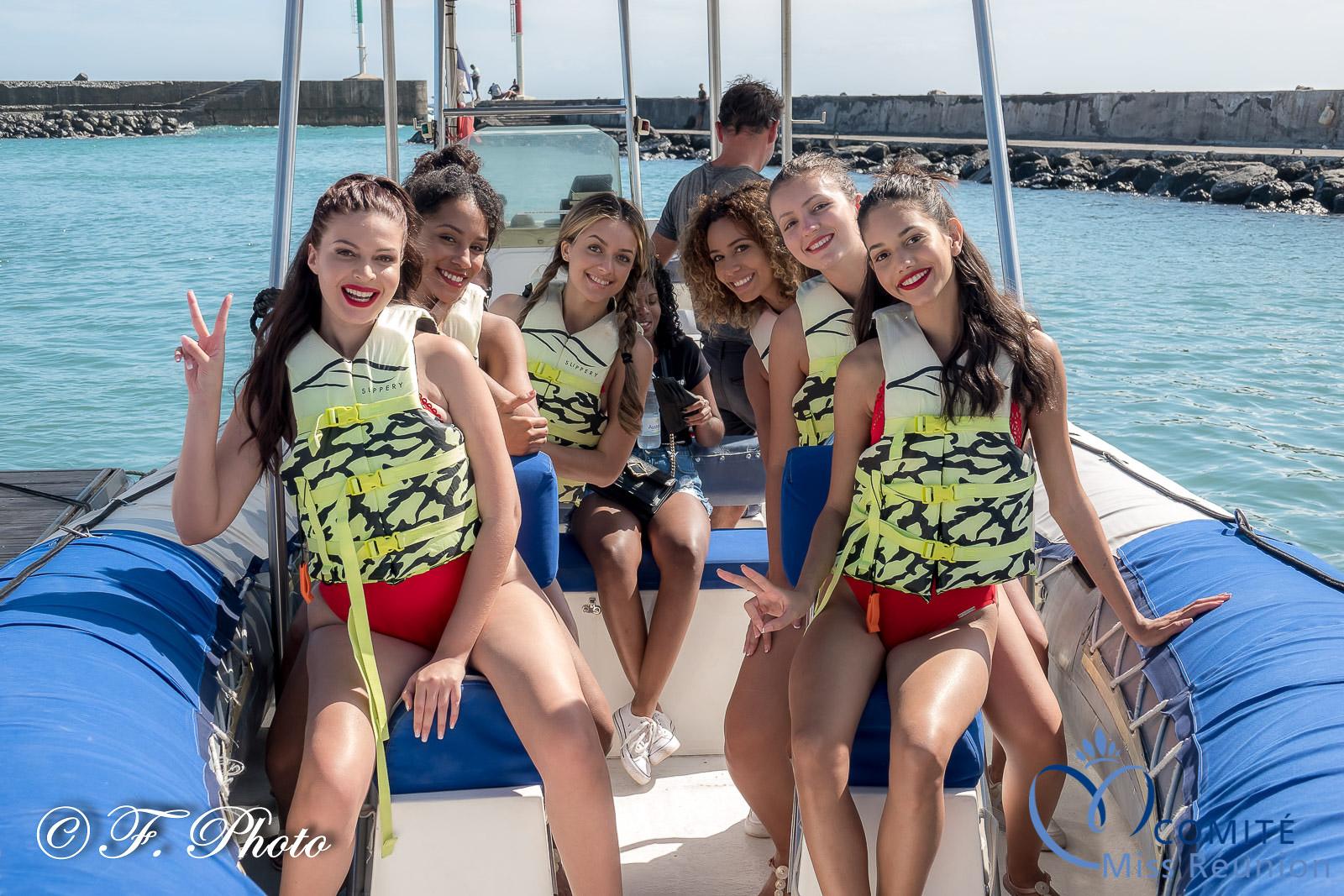 6 candidates en bateau, elles échangeront leurs places avec leurs copines en pleine mer