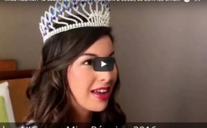Ambre N'guyen, Miss Réunion 2016, pour les enfants atteints du cancer
