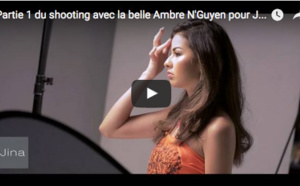 Shooting avec la belle Ambre N'Guyen pour Jina