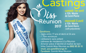 Castings Miss Réunion 2017