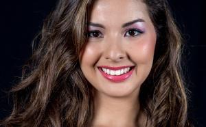 Ambre N'Guyen Miss Réunion 2016 - Prestation à Miss France 2017