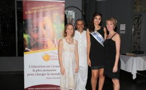 Miss Réunion à la soirée caritative Coeur et Conscience