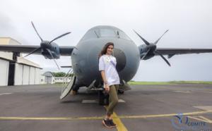 Miss Réunion avec les marmailles 1000 Sourires au DA 181