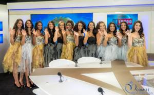 Les 12 candidates au JT d'Antenne Réunion