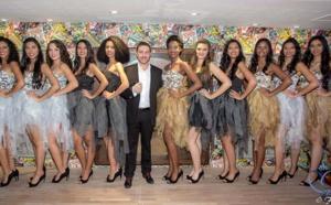 Les 12 candidates Miss Réunion 2017 au Casino de Saint-Denis