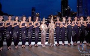 Dîner-croisière des 12 candidates à Bangkok
