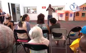Vidéo de Ambre avec les enfants au CHU