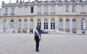 Miss Réunion à l'Assemblée Nationale, une grande première!