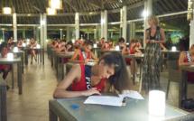 En plein test à Moorea (photo Sipa Press)